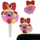 Mameshiba x Kyary Pamyu Pamyu Kyappy Mascot Earphone Jack Accessory (Red)
