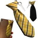 Tie Cleaner Earphone Jack Mascot (Yellow Check)