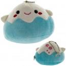 Fujipon Plush Doll Ball Chain Mascot - Blue [Boneka]