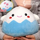 Mt. Fuji kun Plush Doll as Large Pillow (Blue)