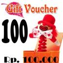 Voucher Hadiah 100