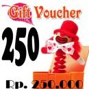 Voucher Hadiah 250