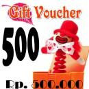 Voucher Hadiah 500