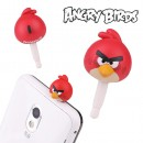 Angry Bird Earphone Jack Accessory (Red Bird)
