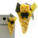 Tasty dessert Earphone Jack Accessory (Crepe/Banana)