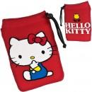Sanrio Characters Multi-Utility Smartphone Pouch - L Size Hello Kitty [Tas Serut]
