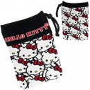 Sanrio Characters Multi-Utility Smartphone Pouch - L Size Hello Kitty Multiple [Tas Serut]