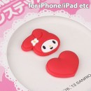 iDress Sanrio Characters Home Button Stickers (My Melody/ Red)