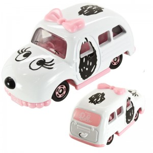 Die Cast Dream Tomica x Snoopy's Sister Belle Special Car [Mainan]