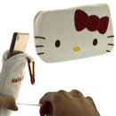 Sanrio Hello Kitty Pop-Up Style Smartphone Pouch - Red [Sarung HP]
