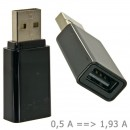 Quick Charger USB Adapter (Black)