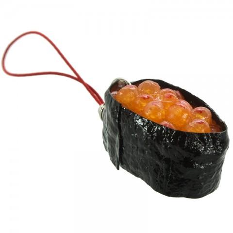 Gantungan HP Replika Makanan Jepang - Sushi Telur Salmon