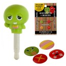 [SET] Gachapin Home Button Sticker and Earphone Jack Accessory