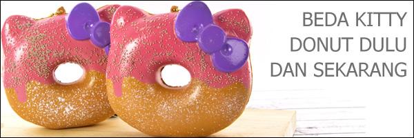 Beda Hello Kitty Squishy Big Donut Half