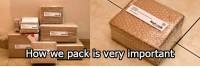 Cara KadoUnik membungkus barang yang akan dikirim