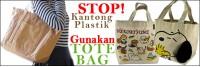 Tas Tote Sebagai Pengganti Kantong Plastik