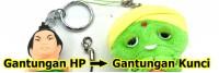 Gantungan HP menjadi Gantungan Kunci? Bisa kok!