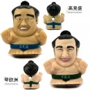 [SET] Sumo Wrestler Toy - Kotooshu and Takamisakari [Mainan]