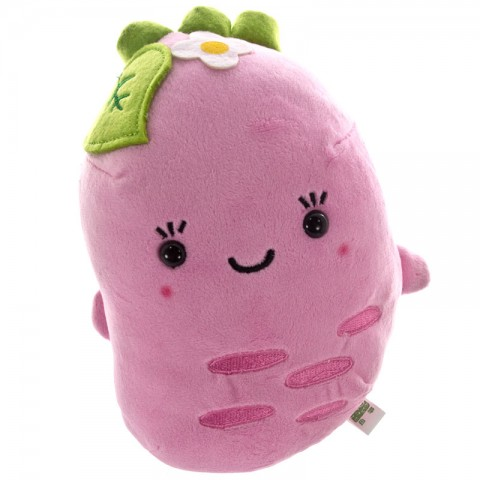 Kawaii Wasabi-chan Plush Doll as Cushion - Pink [Boneka]