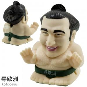 Sumo Wrestler Wind-Up Toy - Kotooshu [Mainan]