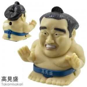 Sumo Wrestler Wind-Up Toy - Takamisakari [Mainan]
