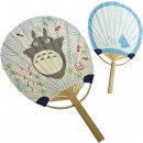 Studio Ghibli My Neighbor Totoro Miniature Japanese Style Bamboo Fan and Postcard (Goldfish)