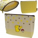 Pokemon Pocket Monsters Multi-Purpose Cotton Zip Pouch Pikachu [Dompet]