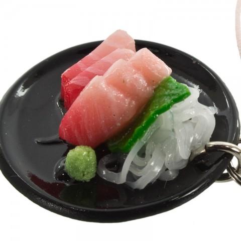 Gantungan Hp Replika Makanan Jepang Tuna Sashimi Kadounik