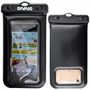 Hamee Original DIVAID Floating Waterproof case for Smartphone - Black [Sarung HP Anti Air]