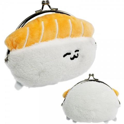 Dompet Koin Boneka Oshushidayo - Sushi Salmon
