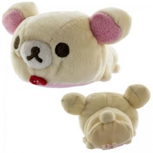Boneka San-X Rilakkuma Mochi Pettan dengan Pembersih Layar - Korilakkuma