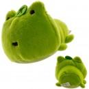 Boneka Karakter San-X Mochi Pettan dengan Pembersih Layar - Tsuginohi Kerori Frog