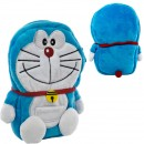 Dompet Multi Fungsi Doraemon Sitting dengan Resleting - Smile