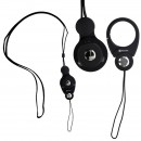 Hand Linker Putto Mobile Neck Strap with Carabiner - Hitam