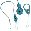Hand Linker Putto Mobile Neck Strap with Carabiner - Sky Blue