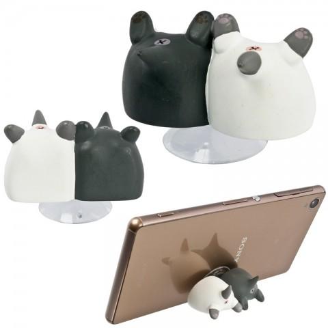Dudukan HP Bokong Kucing Niconico Nekomura - Twin Kittens