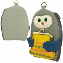 Dompet Multi Fungsi Happy Cat Day - Hug Owl - Burung Hantu