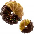 Gantungan Kunci Squishy Sammy The Patissier - Cruller Coklat