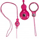 Hand Linker Putto Mobile Neck Strap (Hot Pink)