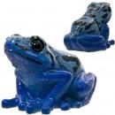 Tempat Paper Clip Katak Magnet - Blue Poison Dart Frog