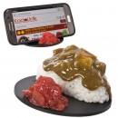 Dudukan HP replika makanan Jepang - Nasi Kari