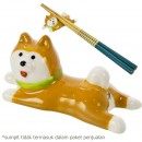 Dudukan Sumpit Decole Concombre - Anjing Shiba Inu