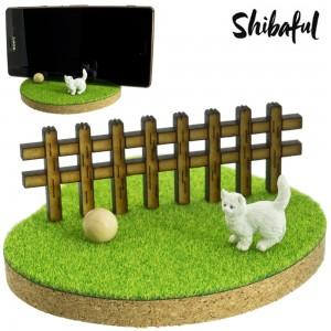 Shibaful Dudukan HP Multifungsi Binatang - Kucing