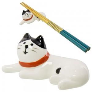 Dudukan Sumpit Decole Concombre - Kucing