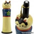 Tempat Pulpen Decole Boneka Kokeshi - Kucing