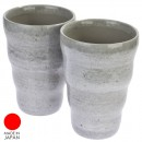 Mug Keramik Grey Sepasang
