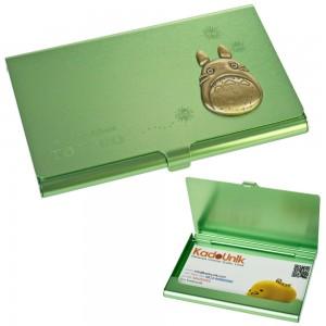 Kotak Kartu Nama Alumunium My Neighbor Totoro - Hijau