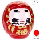 Patung Boneka Daruma - Merah 6,5 cm