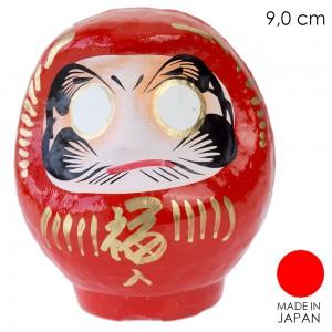 Patung Boneka Daruma dari Takasaki Gunma - Merah 9 cm