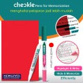 KOKUYO Checkle Pen with Memorize sheet PM-M120P-S